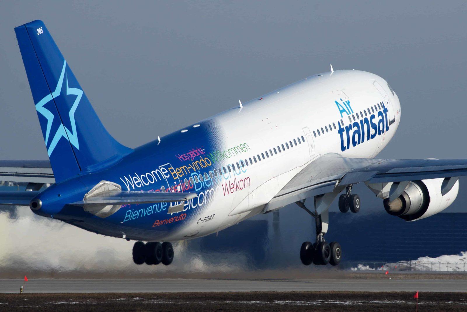 Avion Air Transat Montréal