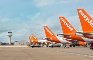 Easyjet corporate plane picture