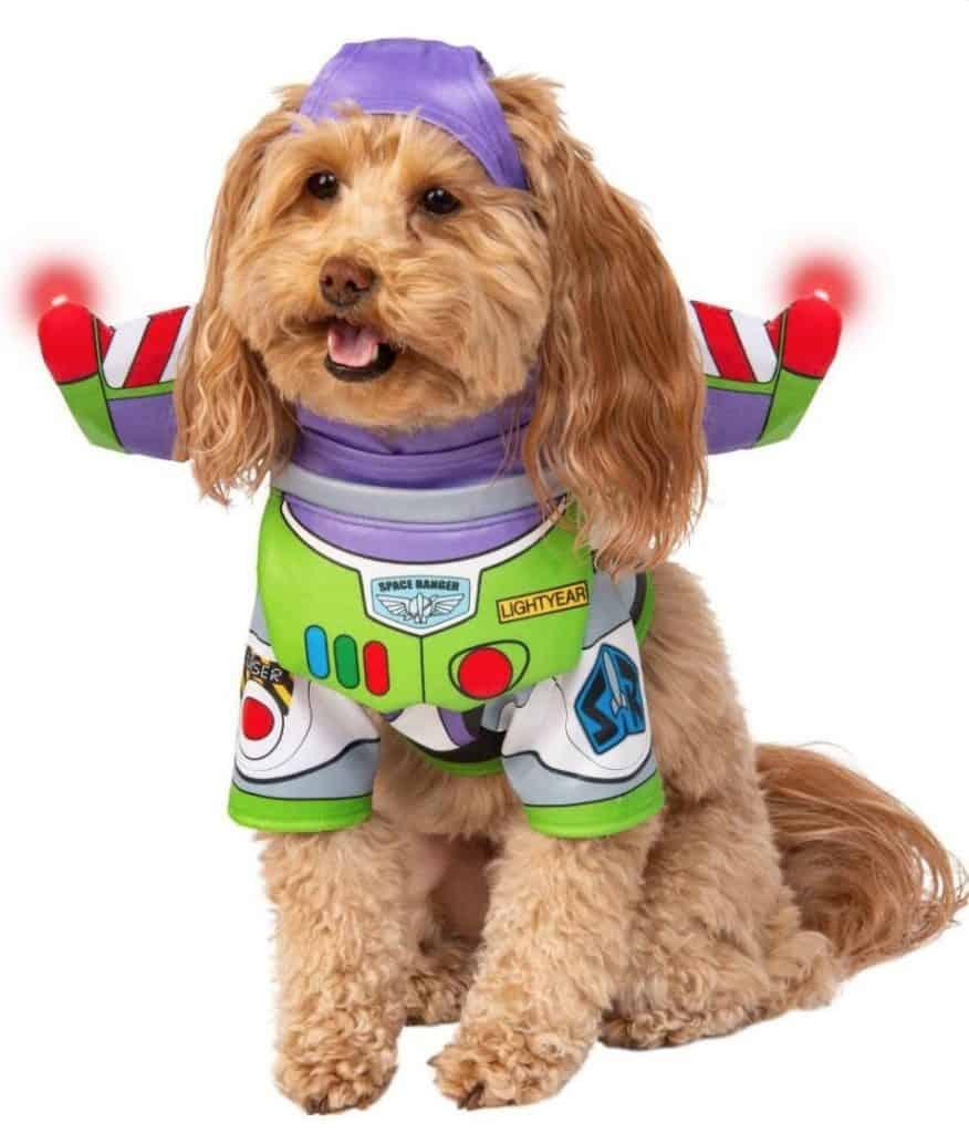 déguisement buzz l'éclair toy story pour chien.