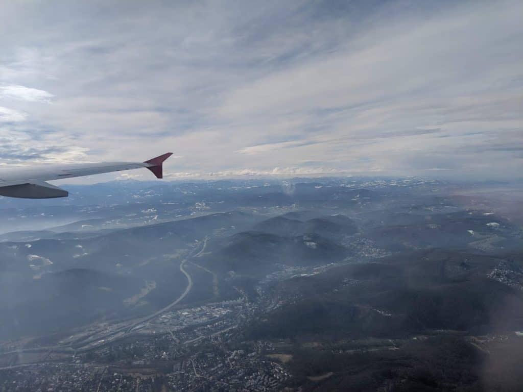 voler avec son chien avec Austrian Airlines