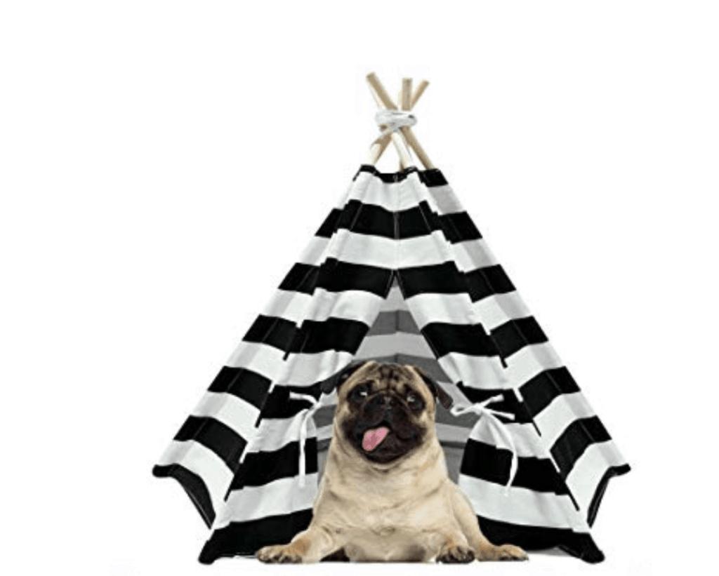 cheap black and white dog teepee aliexpress