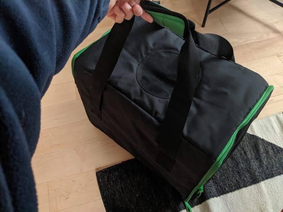 Le sac Ikea Lurvig est très bien pensé