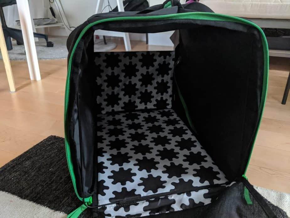Le sac Lurvig est fait pour les petits chiens et chats